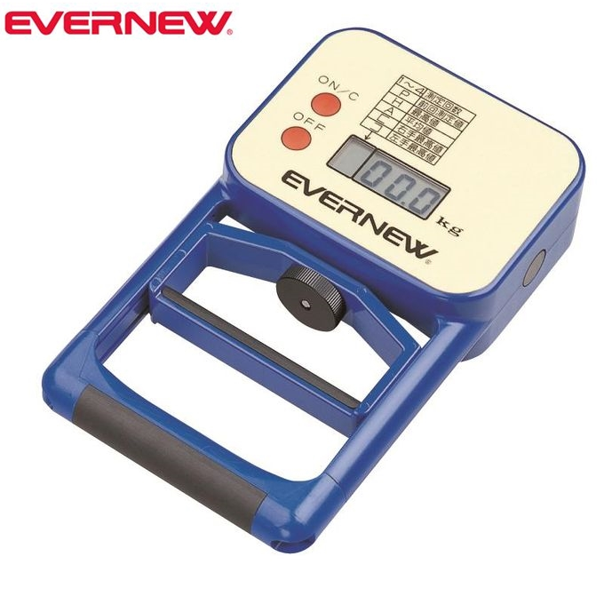 【スーパーSALE エントリーでポイント5倍 】エバニュー EVERNEW EKJ077 デジタル握力計 EKJ077【ラッキーシール対応】