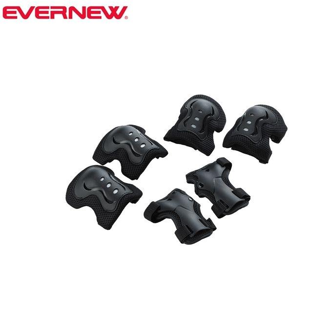 売れ筋ランキング お子様の運動不足解消 脳や体幹のトレーニングに 5%OFFクーポン発行中 国内送料無料 エバニュー ERA081 Lサイズ ジュニア用プロテクター3点セット 39ショップ