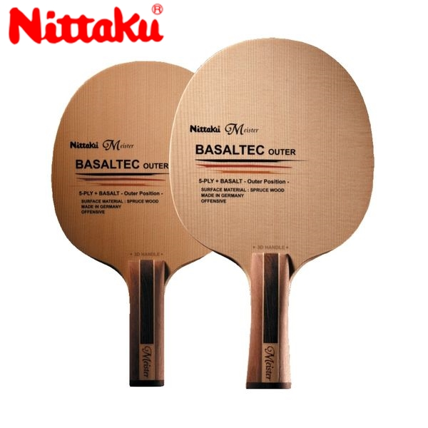 Nittaku ニッタク 日本卓球 NC-0378 卓球 ラケット バサルテックアウター/BASALTEC OUTER/3Dストレート NC-0378【ラッキーシール対応】