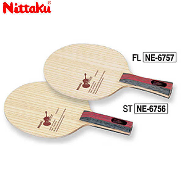 【送料無料】 Nittaku 日本卓球 ニッタク NE-6757 卓球 ラケット バイオリン VIOLIN NE-6757【ラッキーシール対応】
