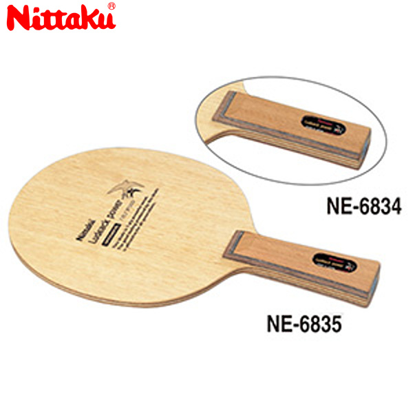 【ラッキーシール対応】【送料無料】 Nittaku 日本卓球 ニッタク NE-6835 卓球 ラケット ルデアックパワー LUDEACK POWER NE-6835