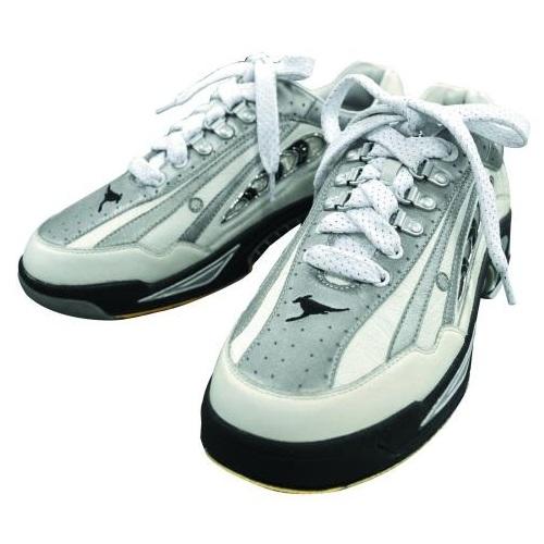 ABS ボウリング シューズ NV-4 ホワイト・シルバー ボウリング用品 ボーリング グッズ 靴