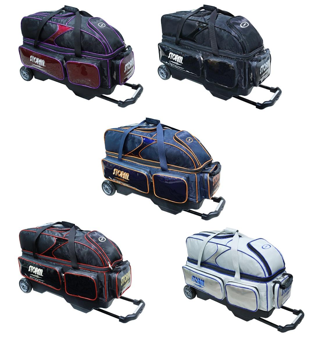 STORM ボウリング バッグ SB228-CI 3ボール キャリーバッグ 全5色 ストーム バッグ ボウリング用品 ボーリング グッズ