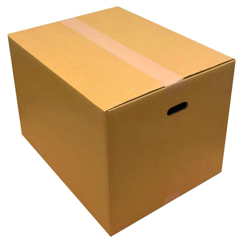 Corrugated cardboard (cardboard box) 120 size five pieces set (cut handle  hole) corrugated cardboard corrugated cardboard cardboard box cardboard box