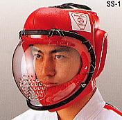 【セール】ウイニング スーパーセーフ面SS-1 (空手 メンホー)