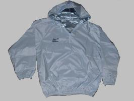 【ズボンにポケット付】MIZUNO当店オリジナルフード付減量着(黒または白)上下セットサウナスーツ減量スーツの決定版(ミズノ・日本製)