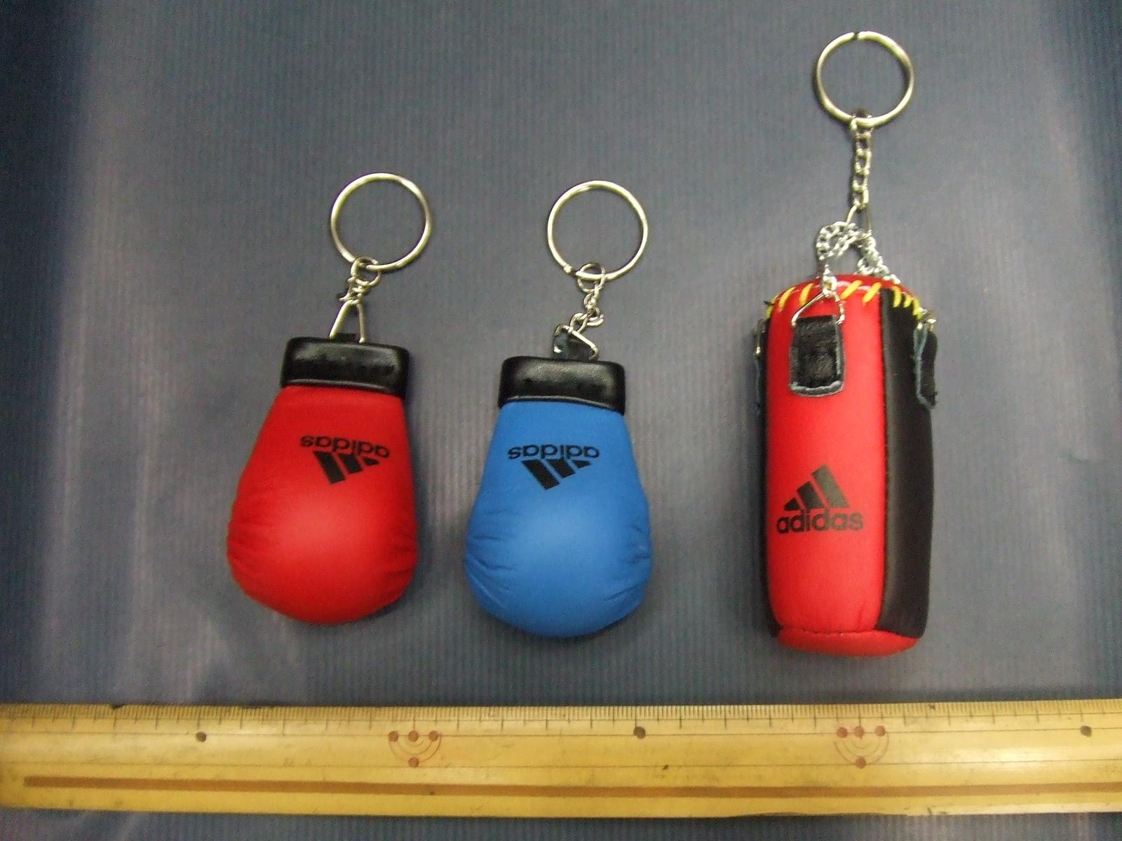 adidas mascot fist supporter (empty-handed key ring)