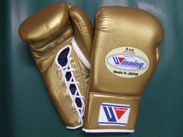 Boxing glove (8 ounces) ソフリナゴールド silver (an order product) for the winning game