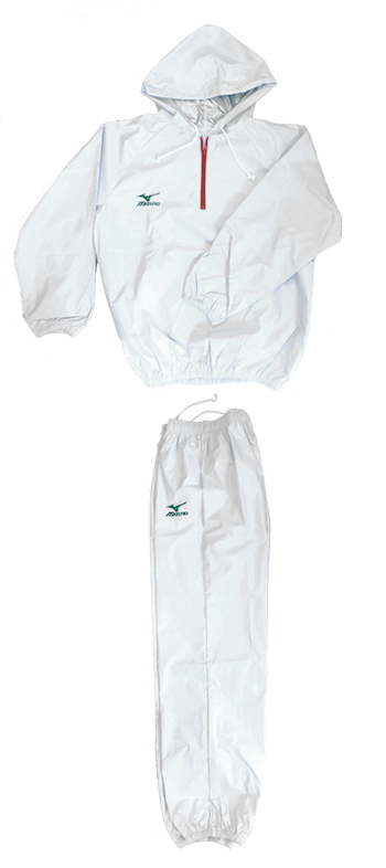 Choice (product made in Mizuno, Japan) of the arrival at weight loss (tricolor color) top and bottom set Mizuno sauna suit weight loss suit with new color Mizuno our store original food of the prize fighter specifications popularity