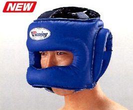【IN STOCK at AMERICA-YA warehouse】   WINNING Head Gear full-face type with BAR for professional use in STANDARD COLOR