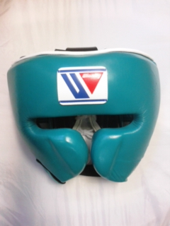 IN STOCK  - Limited item / Special price  Winning head gear in GREEN for professional use