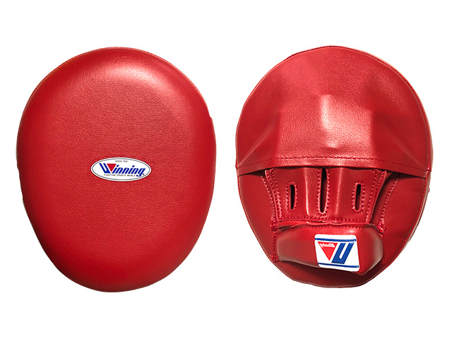 Punch Mitts with Finger Cover LARGE size【在庫あります】指カバー付きウイニングソフトタイプ パンチングミット(左右兼用・2ヶ1組)