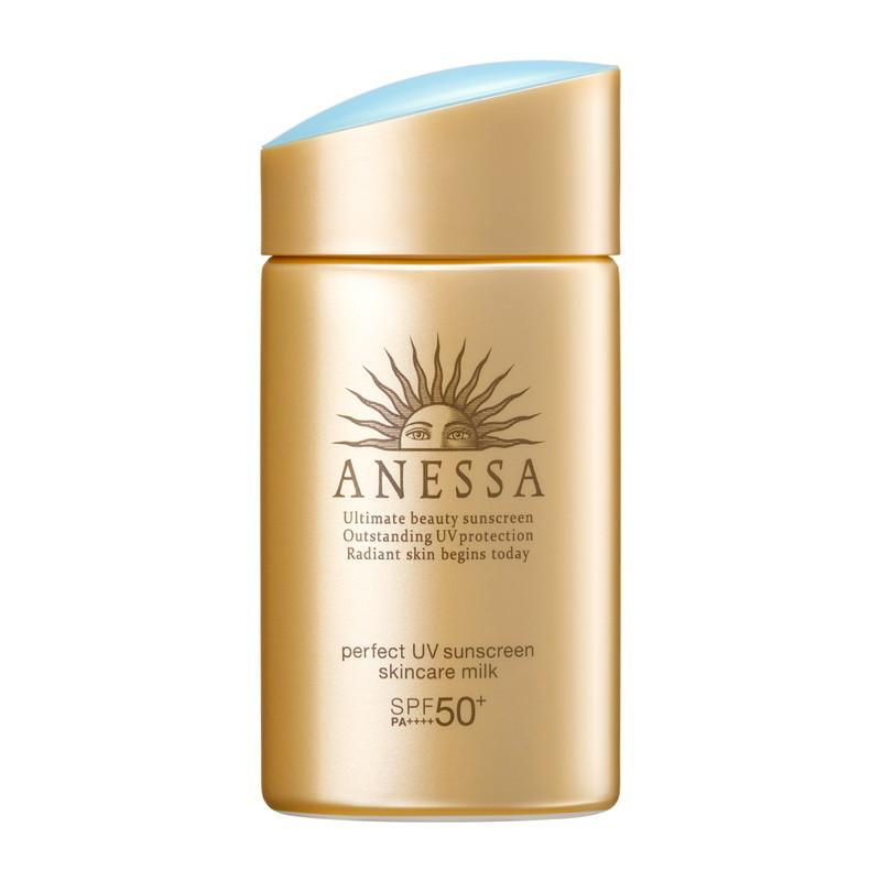 NEW 強UVなのにスキンケアまで スキンケアUVミルク セール特価品 アネッサ パーフェクトUV スキンケアミルク SPF50+ PA++++ a からだ用 60mL 顔 激安挑戦中
