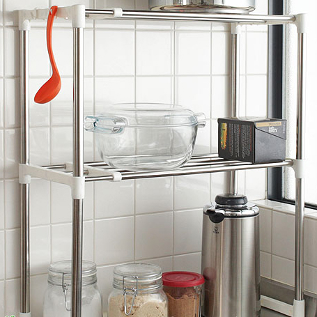Buying kitchen Rack storage rack stainless steel kitchen rack Dish drainer  Cup stand draining sink on the rack (search: kitchen organizing shelf ...