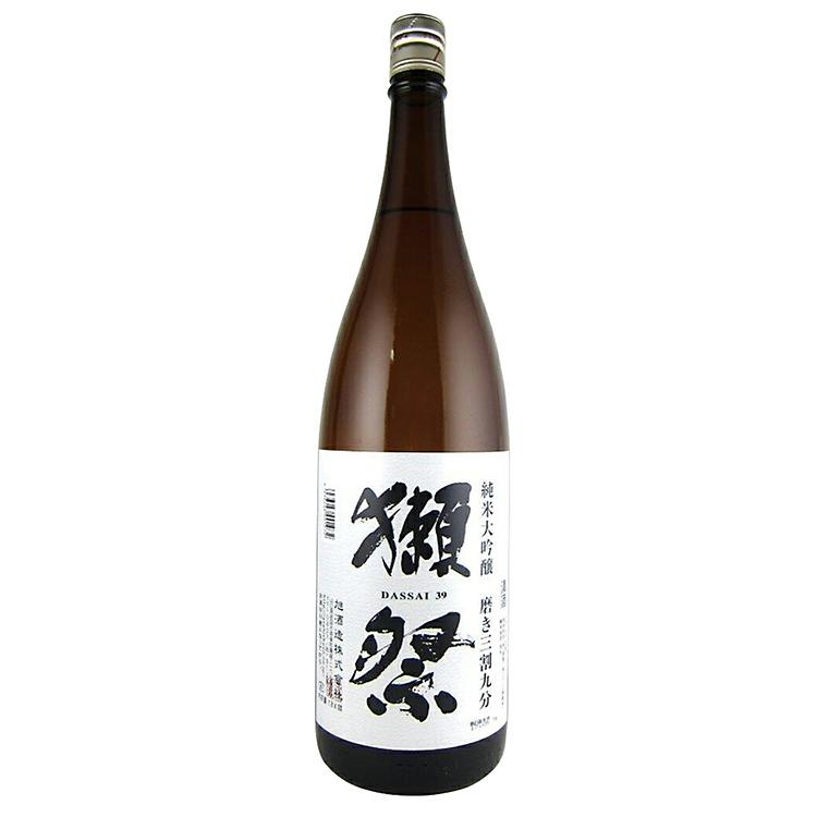 獺祭 純米大吟醸 磨き三割九分 1800ml 訳あり特価品 :2019年1月詰め