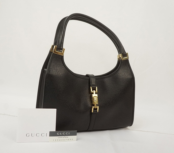 detailed pictures cb460 ea659 GUCCI ハンドバッグレザー・ブラック【GUCCI】【グッチ ...
