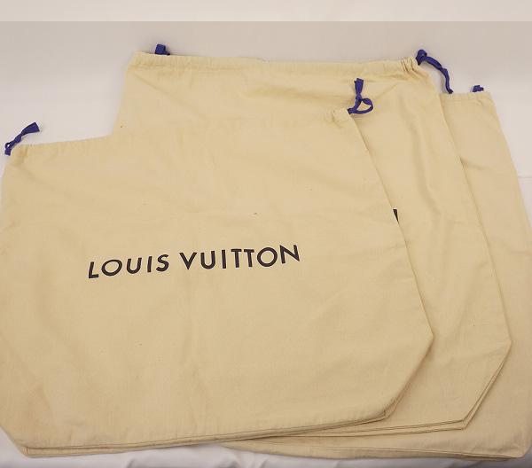 LOUIS VUITTONルイ・ヴィトンルイ・ヴィトン 保存袋3枚セット 巾着タイプ 新型 保存袋Nwm8n0