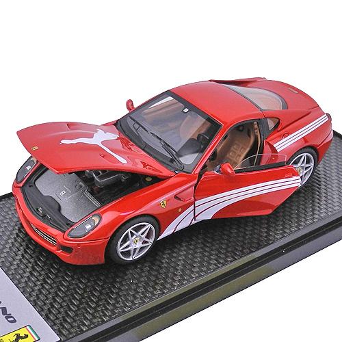 BBR MODELS 1/43スケール フェラーリ 599GTB フィオラノ Puma 2010 レッド BBRC47A