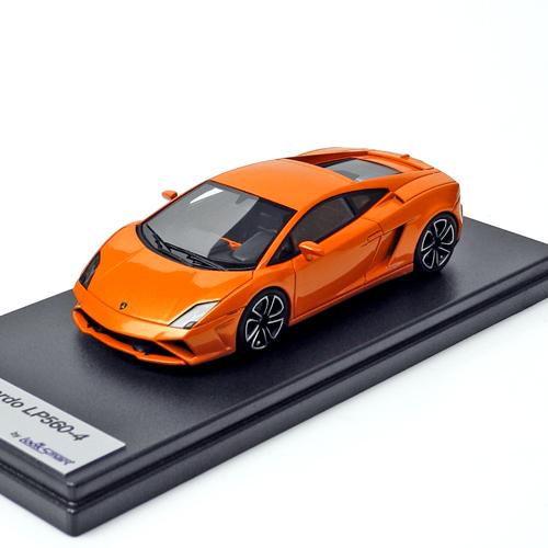 Look Smart 1/43スケール ランボルギーニ ガヤルド LP560-4 Orange Atlas LS410E