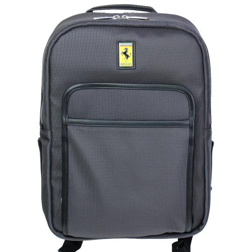 フェラーリ UT ビジネス バックパック チャコール