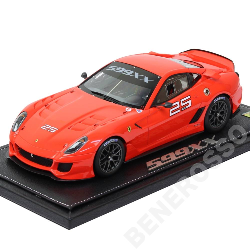 BBR MODELS 1/18スケール フェラーリ 599XX Homestead Miami 2010 #25 P1822