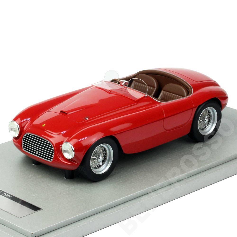 テクノモデル 1/18スケール フェラーリ 166MM プレスバージョン 1949 レッド TM18-52A