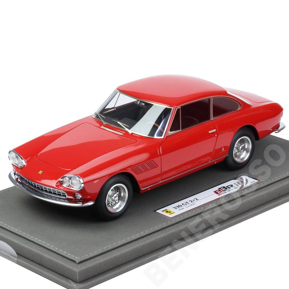 BBR MODELS 1/18スケール フェラーリ 330GT 2+2 S/N 5731 1964 Red BBR1832V