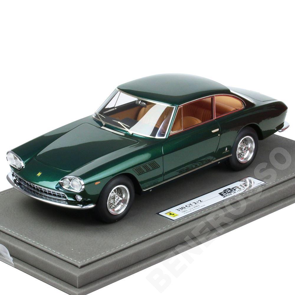BBR MODELS 1/18スケール フェラーリ 330GT 2+2 Enzo Ferrari Personal Car S/N 4693 1963 BBR1832DV