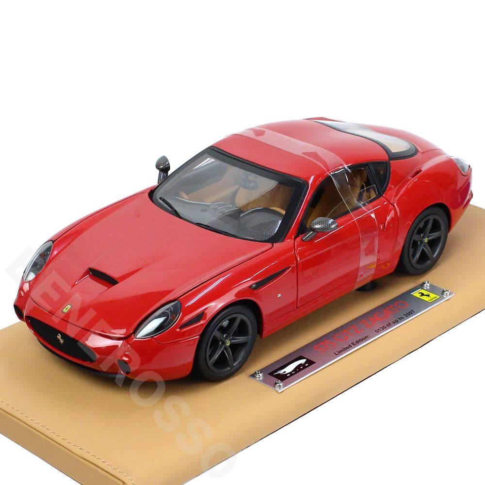 マテル 1/18スケール フェラーリ 575GTZ サガート ELITE スペシャルエディション MT7122L
