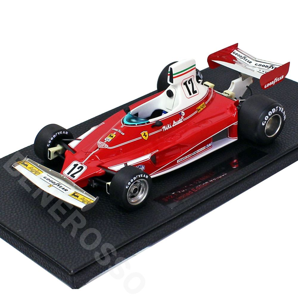 TOPMARQUES 1/18スケール フェラーリ 312T 1975 No.12 N.ラウダ GRP026A