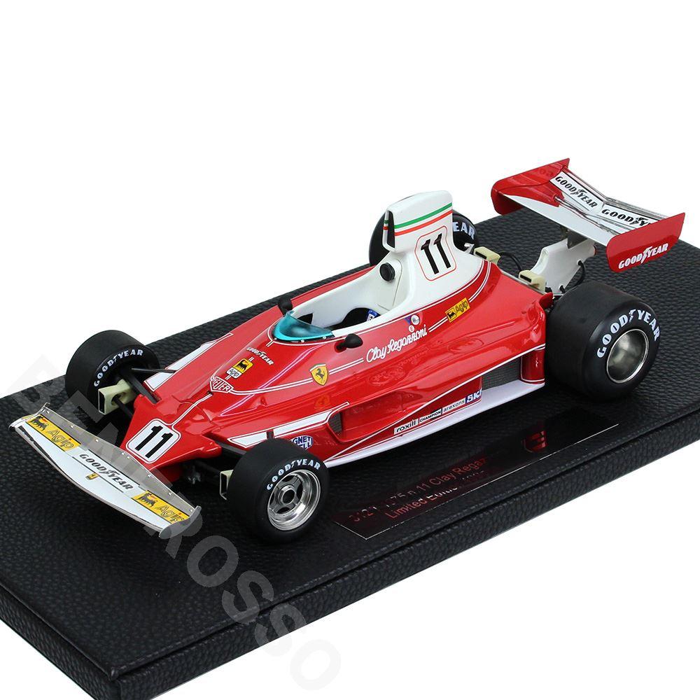 TOPMARQUES 1/18スケール フェラーリ 312T 1975 No.11 C.レガッツォーニ GRP026B