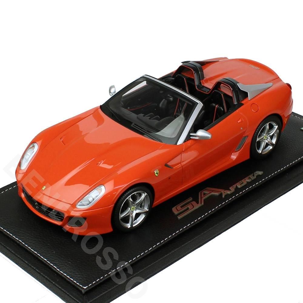 BBR MODELS 1/18スケール フェラーリSAアペルタ ロッソディノ(オレンジ)BBRP1825E