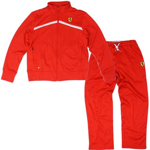 フェラーリ キッズ ジョギングスーツセット レッド