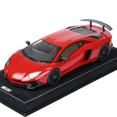 MRコレクション 1/18スケール ランボルギーニ アヴェンタドール LP750-4 Super Veloce Rosso Bia LAMBO019A