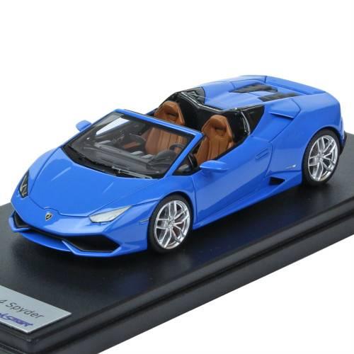 LookSmart 1/43スケール ランボルギーニ ウラカン LP610-4 Spyder Blue LeMans LS452A