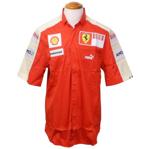 メモラビリア フェラーリ 2009 SFクルー支給用 チームシャツ(未使用)