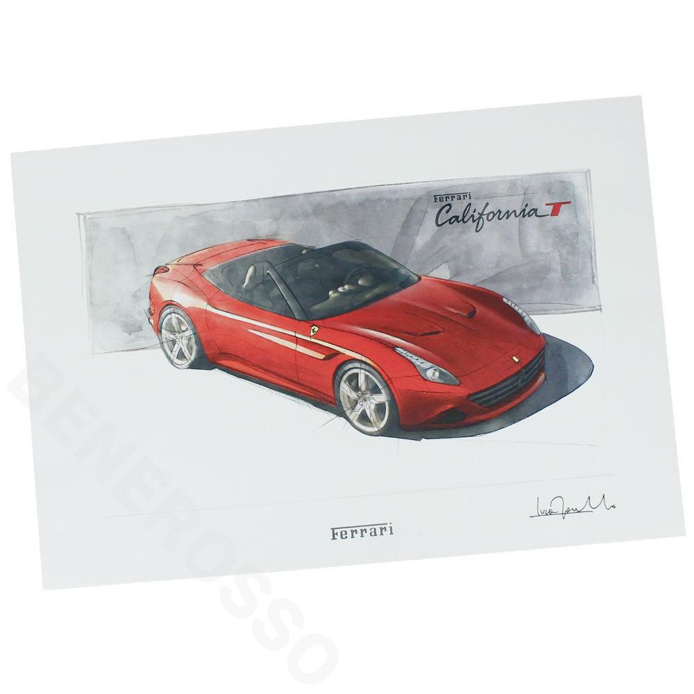 フェラーリ カリフォルニアT プリント リトグラフ VIP 贈呈用