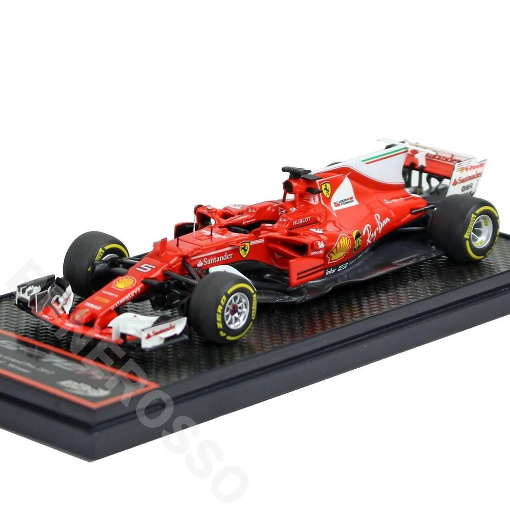 BBR MODELS 1/43スケール フェラーリ SF70-H オーストラリアGP 2017 S.ベッテル Winner 617台限定 BBRC199A
