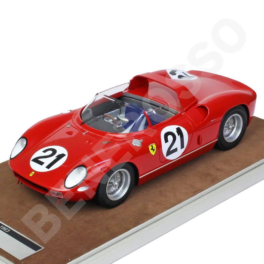 テクノモデル 1/18スケール フェラーリ 250P ル・マン #21 1963 Scarfiotti / Bandini ル・マン優勝