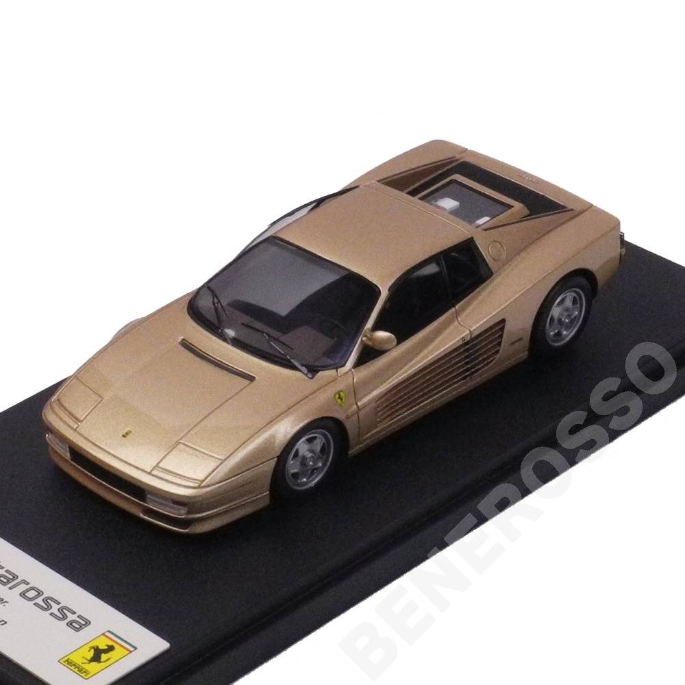 EIDOLON 1/43スケール フェラーリ テスタロッサ 1st Ver. モディフィケーション ゴールド EM144