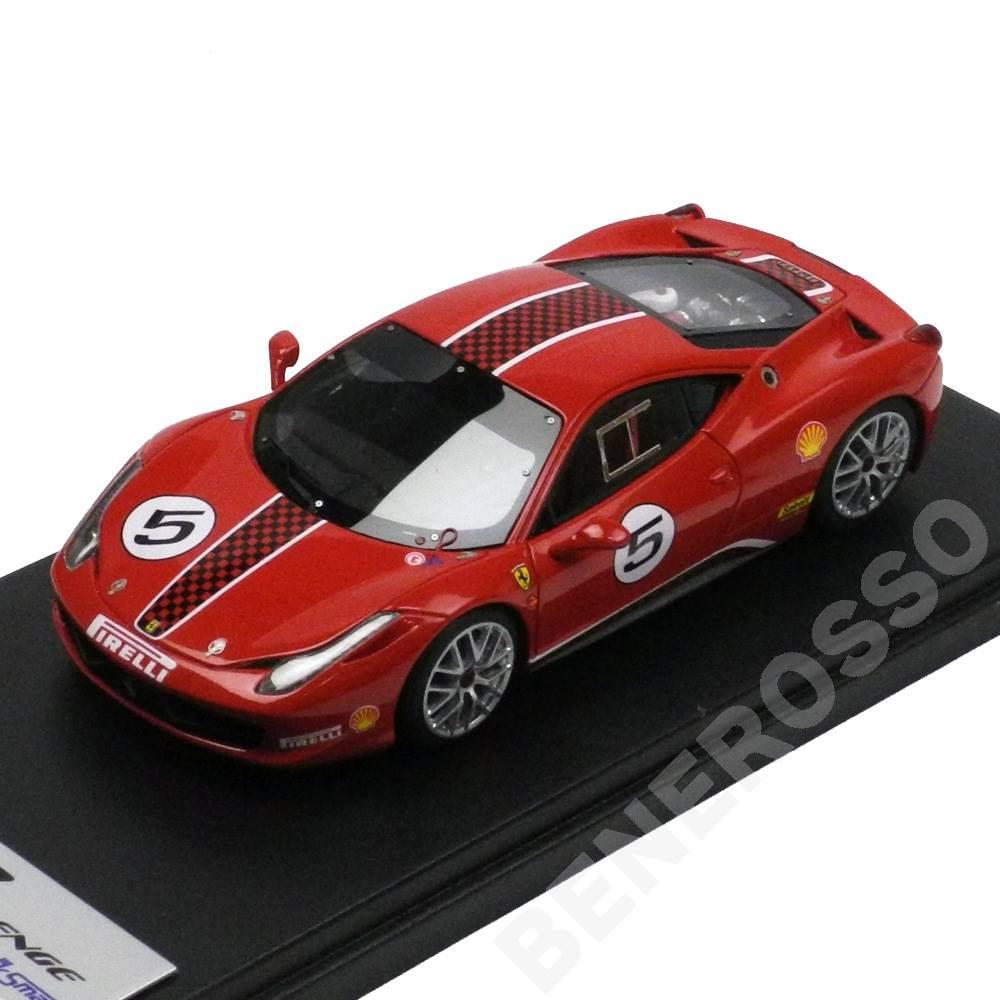 Look Smart 1/43スケール フェラーリ 458 Challenge Press Version #5 LS385A