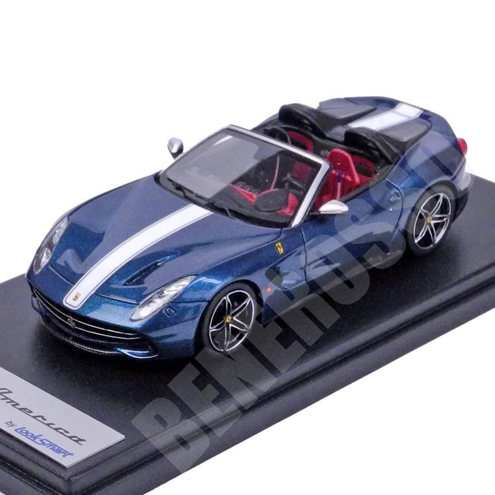Look Smart 1/43スケール フェラーリ F60 America Blu Nart LS443