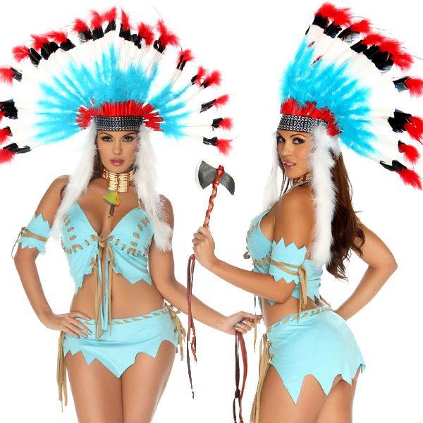 海外ブランド ForPlay フォープレイ ハロウィン コスプレ衣装 仮装 セクシーインディアンコスチューム4点セット/仮装パーティー・イベント