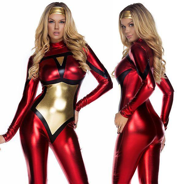 海外ブランド ForPlay フォープレイ コスチューム レディース 大人コスプレ ハロウィン衣装 アメリカンヒーロー2点セット 仮装パーティー パレード