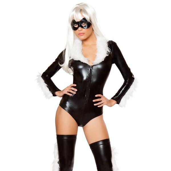 【売れ筋】海外ブランド ハロウィン コスチューム レディースファッション コスプレ衣装 アメリカンコミック ヒーロー ロンパース 3点セット 仮装パーティー