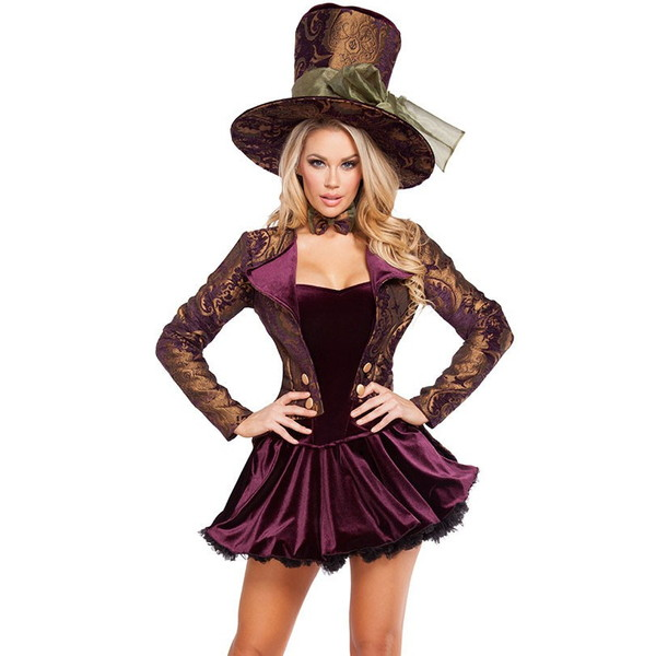 海外ブランド ROMA ローマ コスチューム レディース 大人コスプレ ハロウィン衣装 パーティー衣装5点セット 仮装パーティー パレード