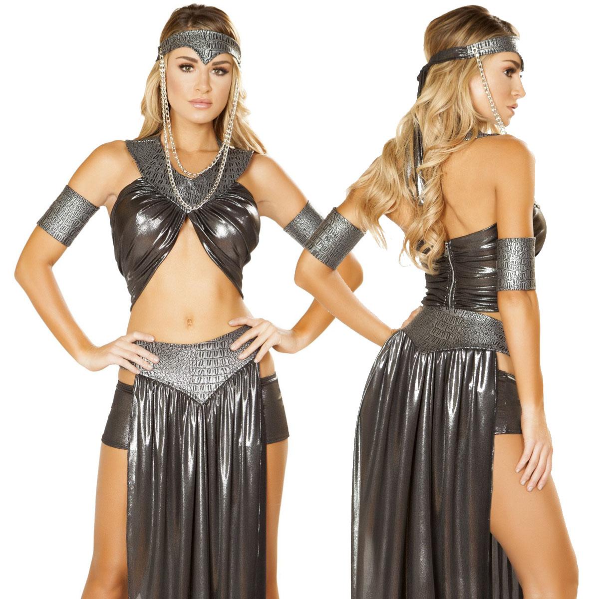 海外ブランド ROMA ローマ コスチューム 大人コスプレ ハロウィン衣装 ゲーム ドラゴンクイーン5点セット 衣装 仮装 パーティー イベント パレード