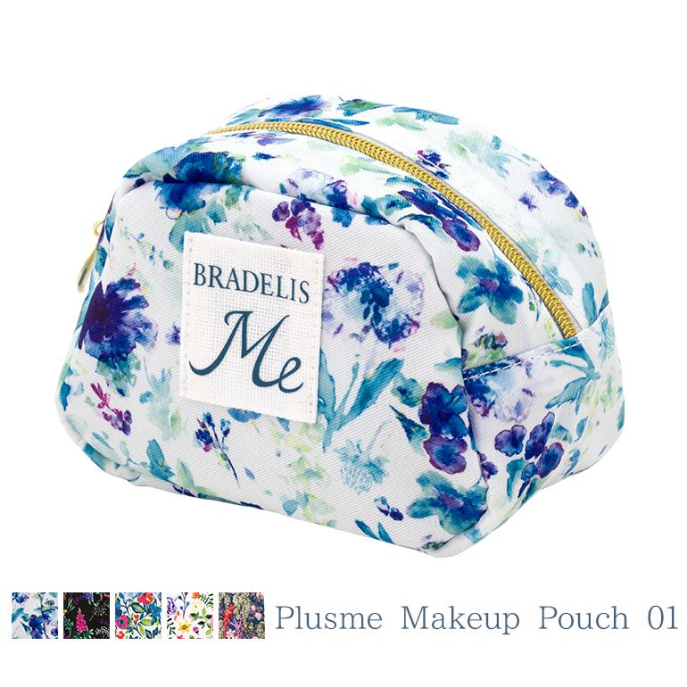 BRADELIS Me ブラデリスニューヨーク Plusme 国内送料無料 Makeup 01 プラスミー メイクアップポーチ BRNY Pouch 激安卸販売新品