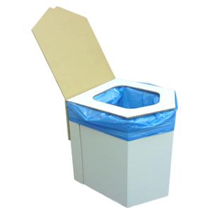 ミラクル9で紹介されました 耐荷重テストで約600kgの実績 安心の段ボールトイレ 送料無料 一部地域を除く 公式サイト 組み立て式 エコ洋式簡易トイレ ラビン BR-001a 簡易トイレ ダンボールトイレ 非常用トイレ 全商品オープニング価格