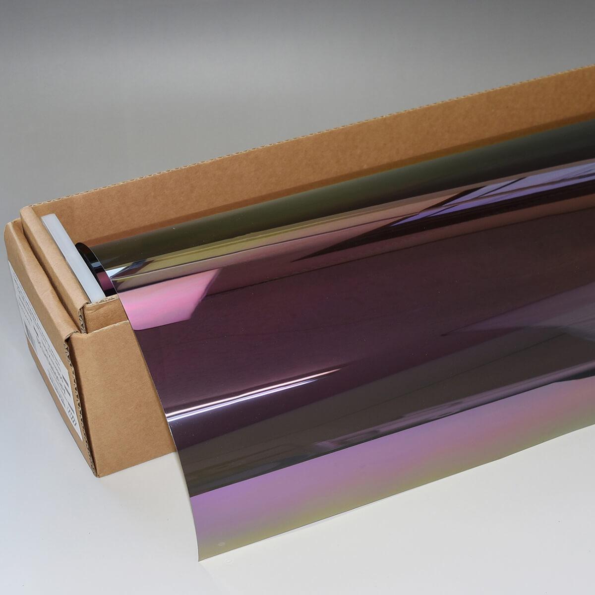 カーフィルム箱売 NIGHT GHOST(ナイトゴースト) オーロラスモーク30 1m幅 x 長さ30mロール箱売 IR遮蔽 多層マルチレイヤー ストラクチュラルカラー オーロラスモークフィルム30